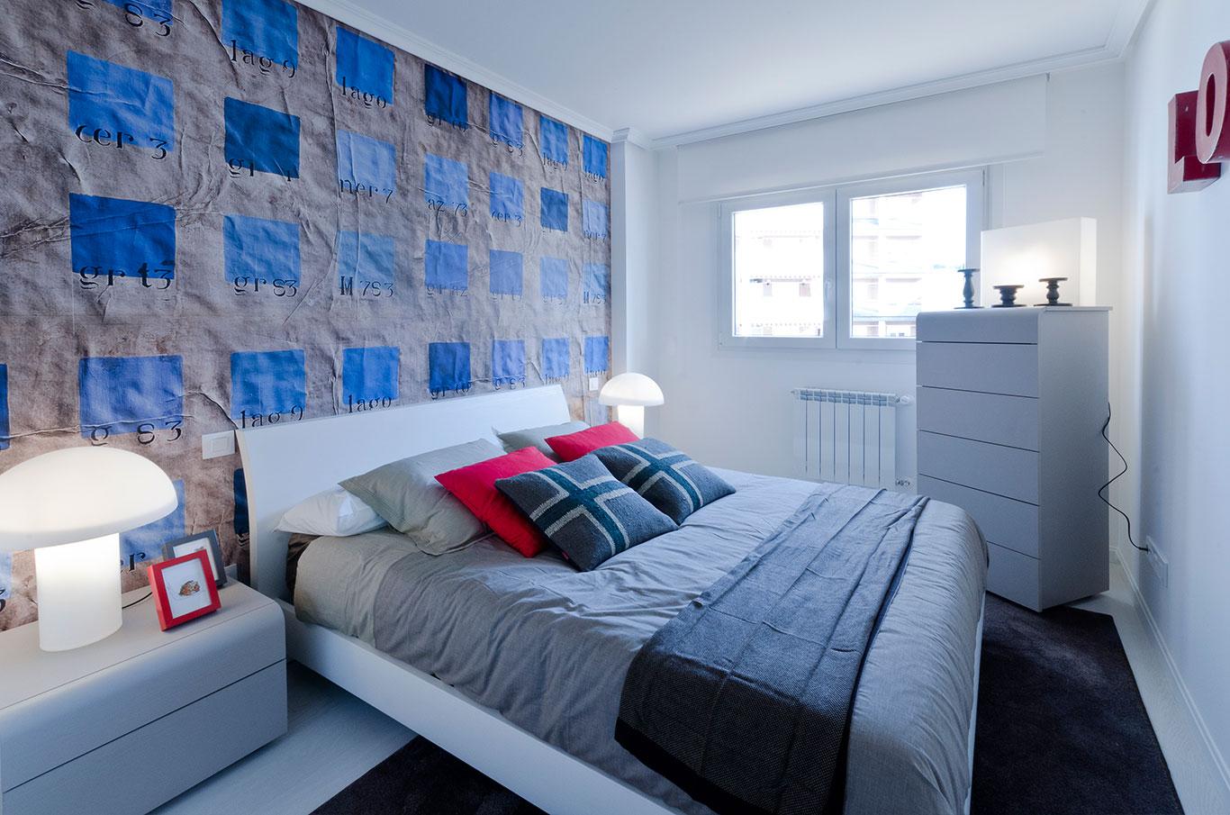 Dormitorio principal Piso en Rivas Larvin