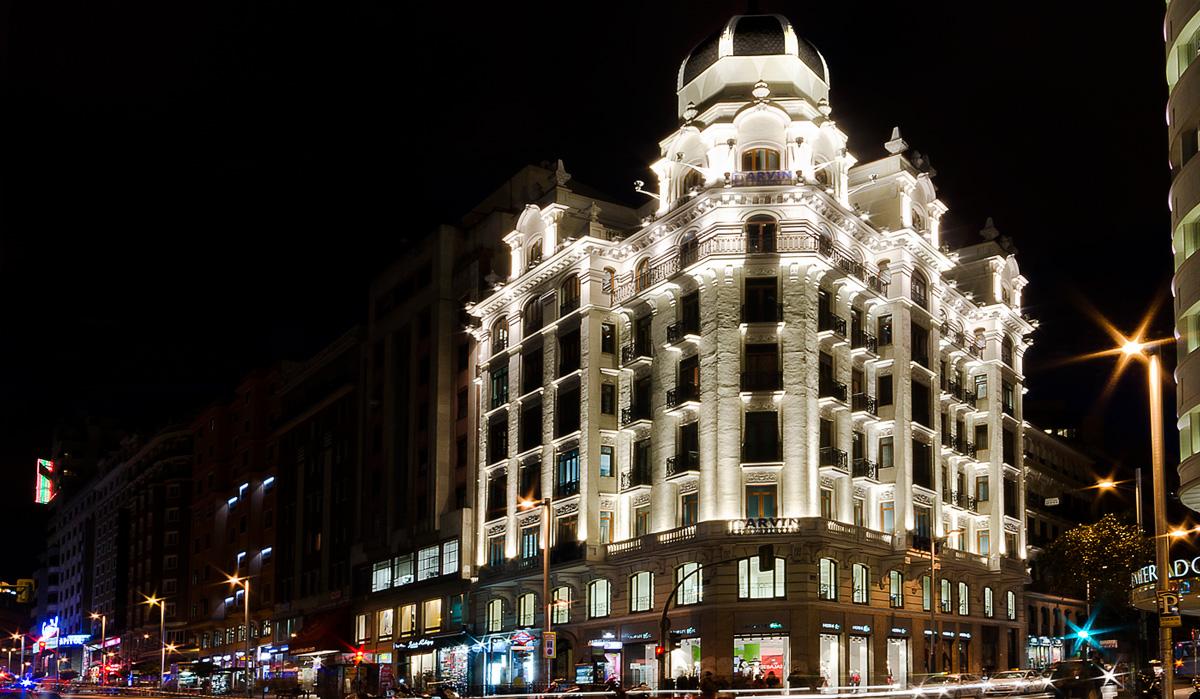 Sede Larvin Gran Vía Madrid