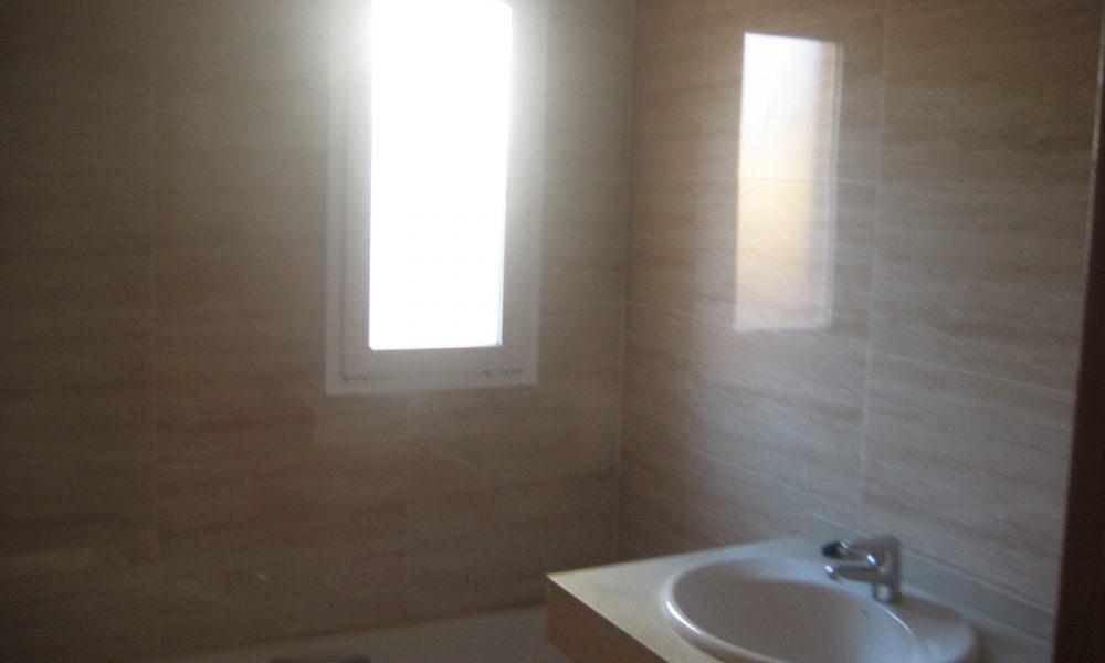 Detalle baño pisos Alicante Larvin