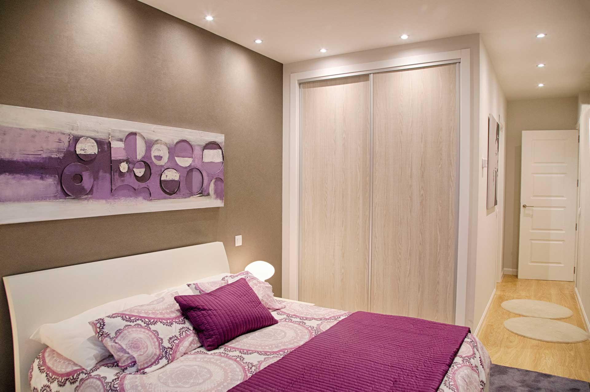 Dormitorio de una cama en Chalet Rivas Vaciamadrid Dormitorio