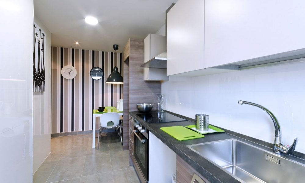 Cocina en Pisos Rivas Larvin