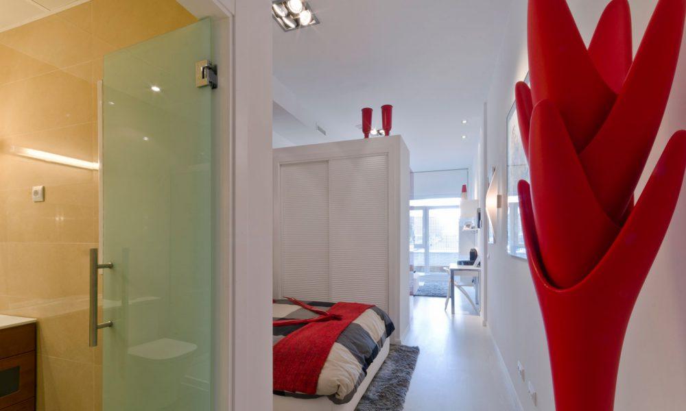 Habitación dormitorio piso Rivas