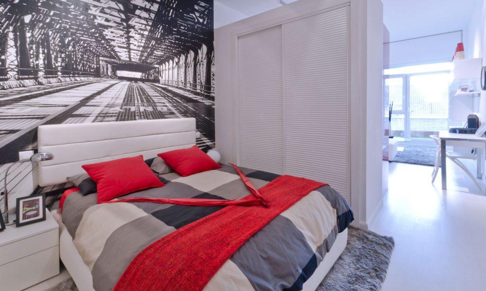 Dormitorio principal piso rivas