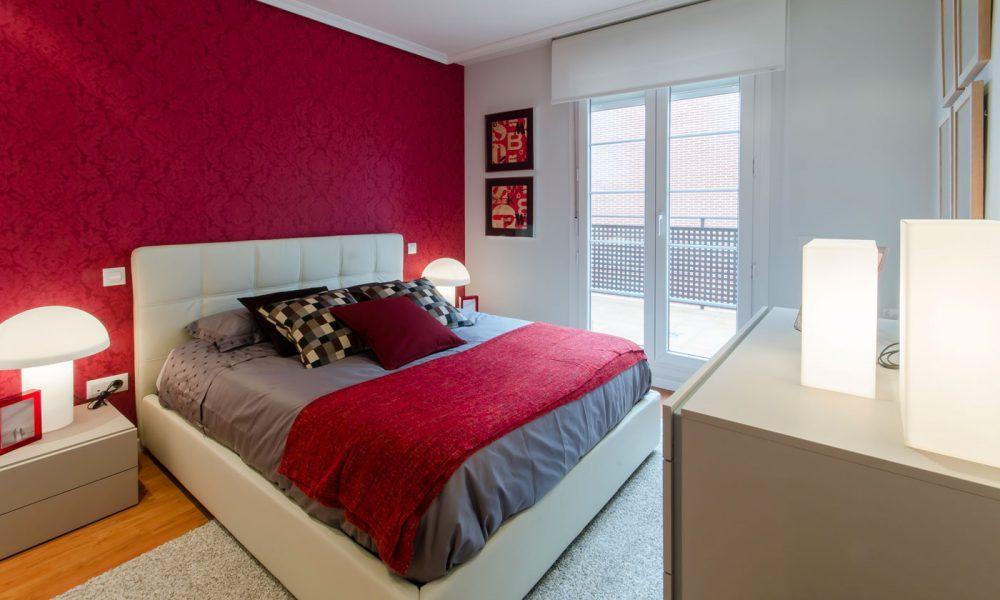 Dormitorio principal chalet Móstoles