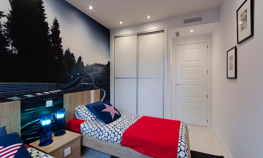 Pisos Rivas Larvin Dormitorios
