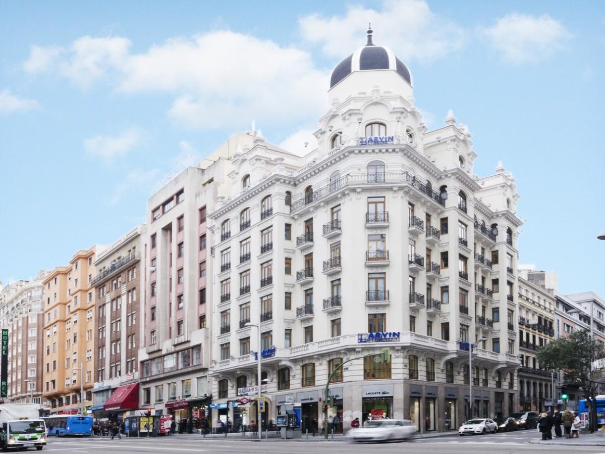 Sede Larvin Oficinas Gran Vía Madrid