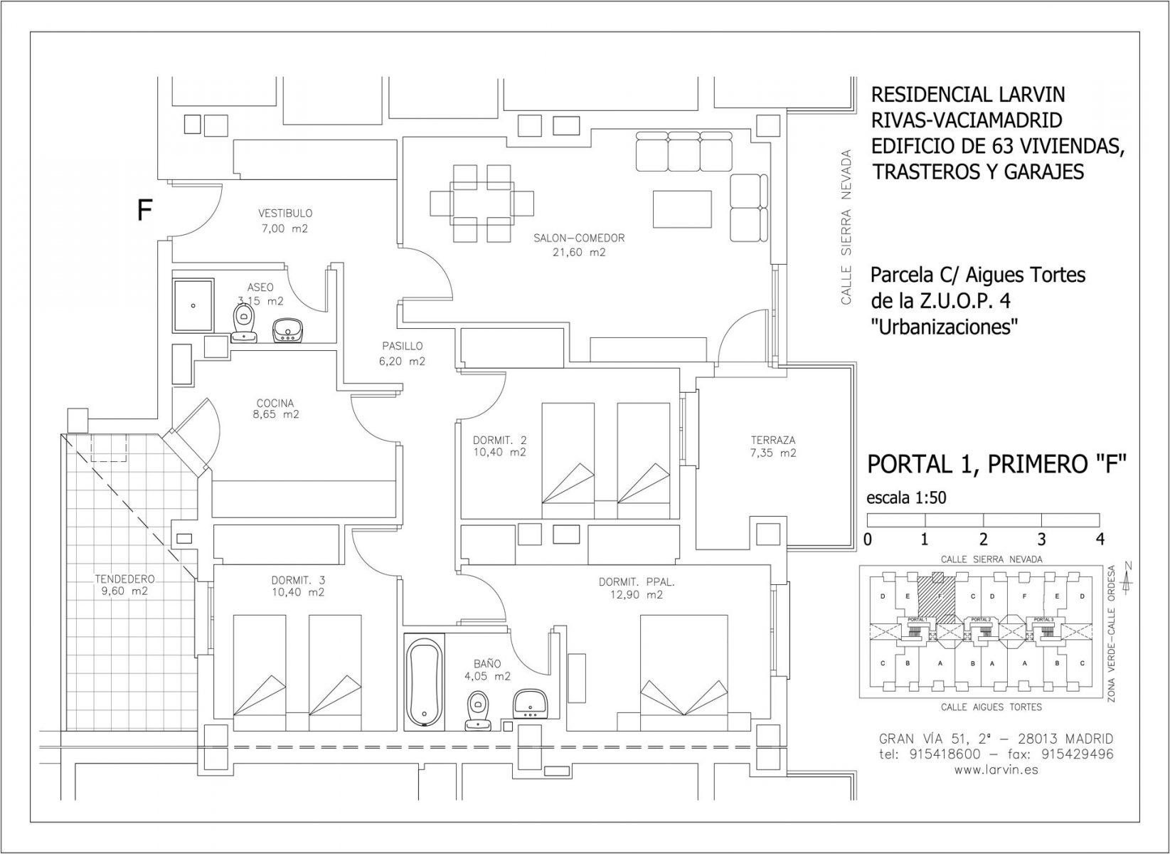 Planos pisos Rivas Vaciamadrid