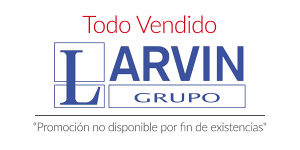 Promoción vendida Larvin